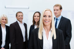 Successful corporate manageress Royalty Free Stock Images