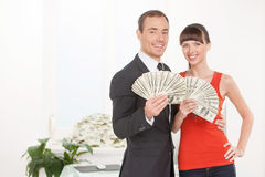 Successful couple. Stock Image