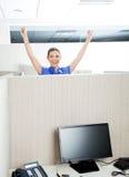 Successful Customer Service Representative In Stock Image