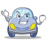 Successful cute car character cartoon Stock Photo