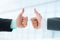 Successful deal Stock Photography