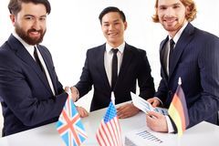 Successful deal Royalty Free Stock Photo