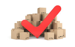 Successful delivery Royalty Free Stock Photo