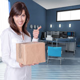 Successful delivery Stock Photos