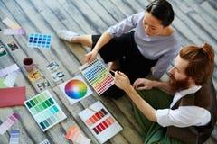 Successful Designer Team Royalty Free Stock Photos