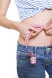 Successful diet Stock Image