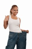 Successful diet Stock Photography
