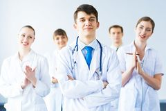 Successful doctor Royalty Free Stock Photography