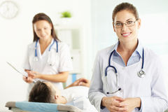 Successful doctor royalty free stock photos