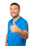 Successful doctor man Royalty Free Stock Image