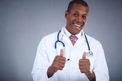 Successful doctor Stock Images
