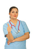 Successful doctor woman Stock Photos