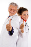 Successful doctors team Stock Images
