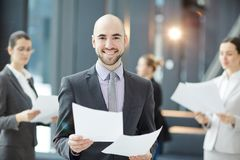 Successful economist Royalty Free Stock Images