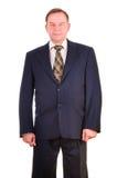 Successful elder businessman Stock Images