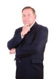 Successful elder businessman Royalty Free Stock Photos