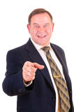 Successful elder businessman Royalty Free Stock Photo