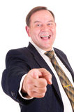 Successful elder businessman Royalty Free Stock Image