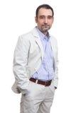 Successful elder businessman Stock Image