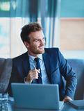 Successful employee Royalty Free Stock Photo