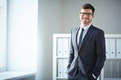 Successful employee Stock Image