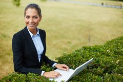 Successful employee Royalty Free Stock Photography