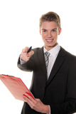 Successful employee in services sector Royalty Free Stock Photography
