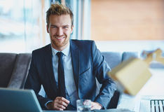 Successful employee Royalty Free Stock Photos