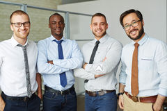 Successful employees Stock Image