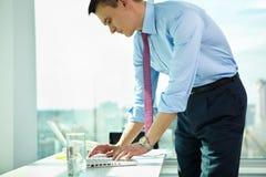 Successful employer Stock Photos