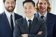 Successful employer Stock Image