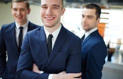 Successful employer Stock Photo