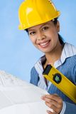 Successful engineer Stock Images