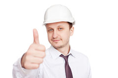 Successful engineer Royalty Free Stock Images