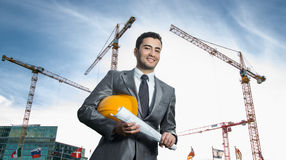 Successful engineer or architect Stock Photos