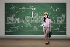 Successful engineer project design 1 Stock Photo