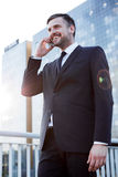 Successful enterpreneur making business Royalty Free Stock Photography