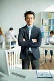 Successful entrepreneur Stock Image
