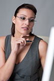 Successful executive businesswoman at office Royalty Free Stock Photography