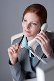 Successful executive businesswoman on the phone Royalty Free Stock Photo
