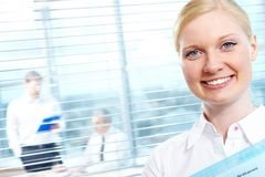 Successful female Stock Images