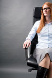 Successful Female Business Manager Stock Photos