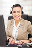 Call center employee Royalty Free Stock Images