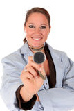 Successful female doctor Royalty Free Stock Photos