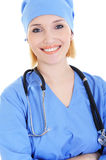 Successful female doctor surgeon Stock Photo