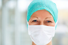 Successful female surgeon Royalty Free Stock Photo