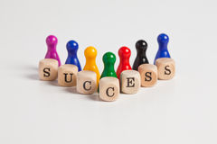 Successful figures Stock Image
