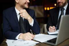 Successful Finance Partners stock images