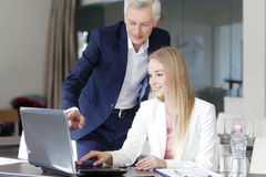 Successful financial team Stock Image