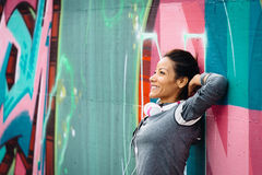 Successful fitness woman Stock Photography